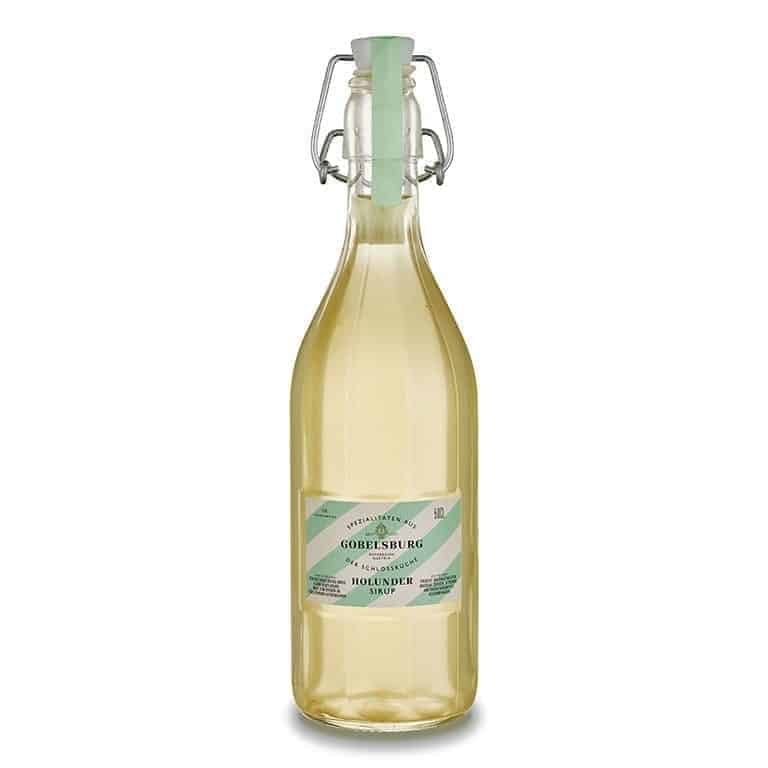 Gobelsburg elderflower syrup