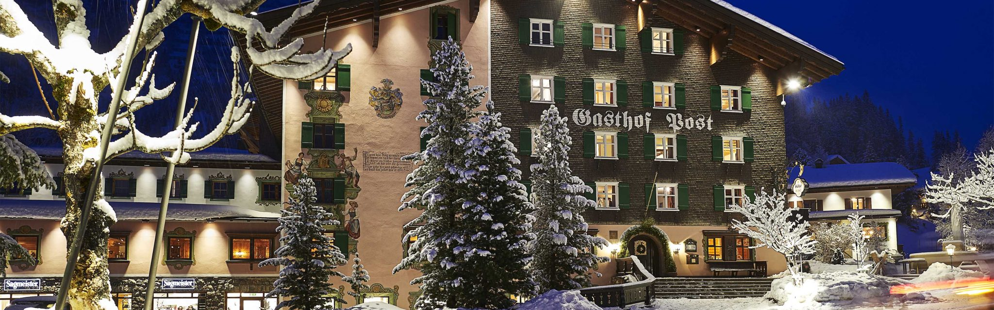 Gasthof Post in Lech
