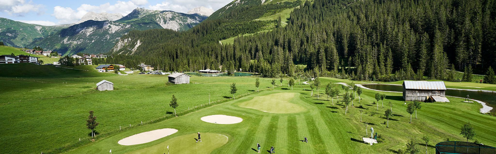 Golf in Lech; Hotel Gasthof Post, Lech, Vorarlberg